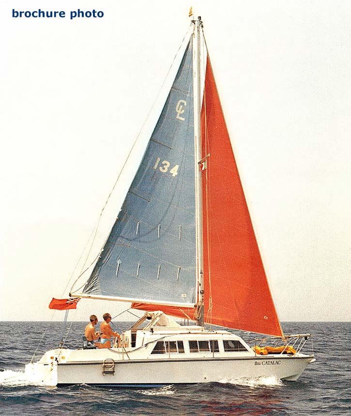 Catalac 8 metre catamaran archive details - Yachtsnet Ltd. online UK yacht brokers - yacht ...