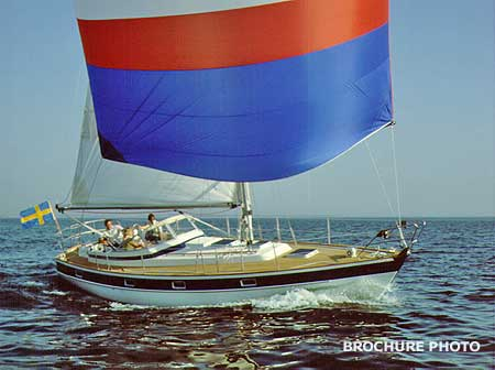 Quite detailed historical and technical information on the Hallberg-Rassy ...
