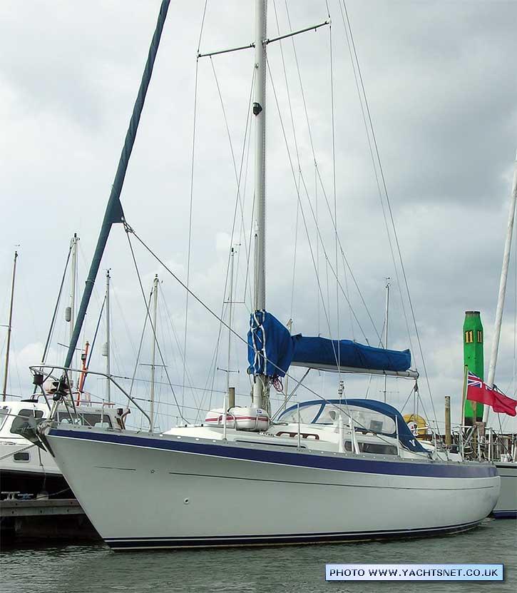 Segelyacht Moody 33 Mark 1 Yachten & Kielboote Bootsport