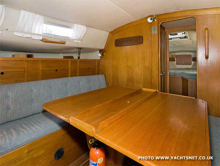 Westerly Fulmar saloon - this boat for sale