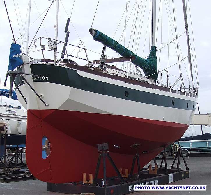Alan Pape Ebbtide 36 archive details - Yachtsnet Ltd  online