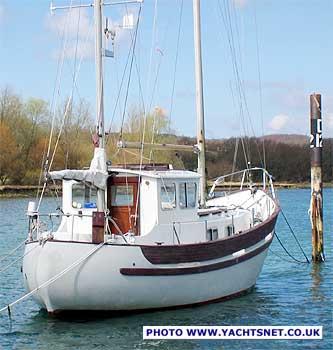 Fisher 30 archive details - Yachtsnet Ltd  online UK yacht brokers