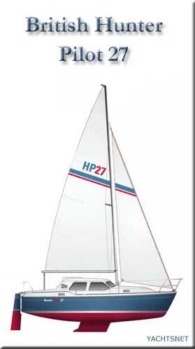 Hunter Pilot 27 archive details - Yachtsnet Ltd  online UK