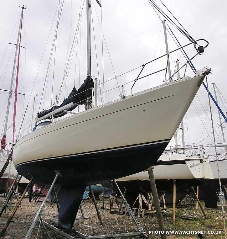 Sigma 36 archive details - Yachtsnet Ltd  online UK yacht