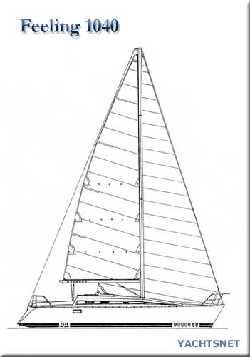 Feeling 1040 yacht for sale - Yachtsnet Ltd  yacht brokerage and